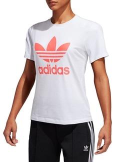 Adidas Trefoil Short-Sleeve Tee