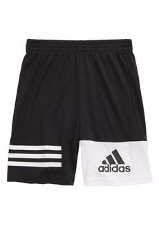 adidas True Geo Athletic Shorts (Toddler & Little Boy)