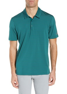 adidas Ultimate 365 Two-Color Stripe Polo Shirt