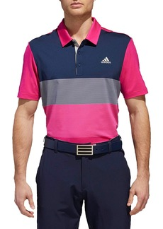 adidas Ultimate Colorblock Regular Fit Polo Shirt