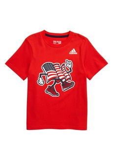 adidas USA Graphic T-Shirt (Toddler Boys & Little Boys)