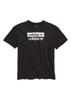 adidas V-Ocal Graphic T-Shirt (Big Boys)