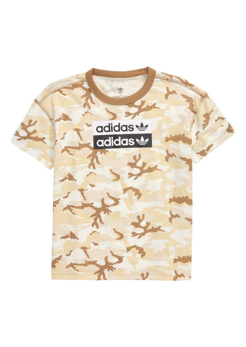 adidas V-Ocal Graphic T-Shirt (Big Boys)