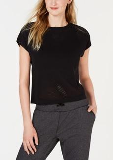 adidas Warp Knit Cropped Training T-Shirt