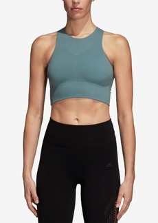 adidas Warpknit ClimaCool Cropped Tank Top