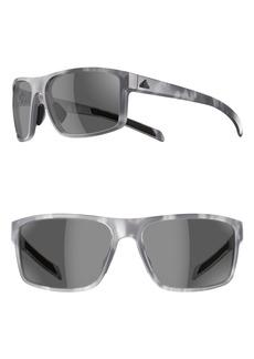 ee054e9539 adidas Whipstart 61mm Rectangle Sport Sunglasses