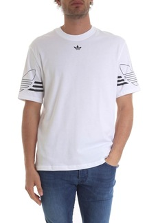 Adidas White Outline T-shirt