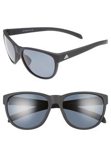 adidas Wildcharge 61mm Polarized Sunglasses