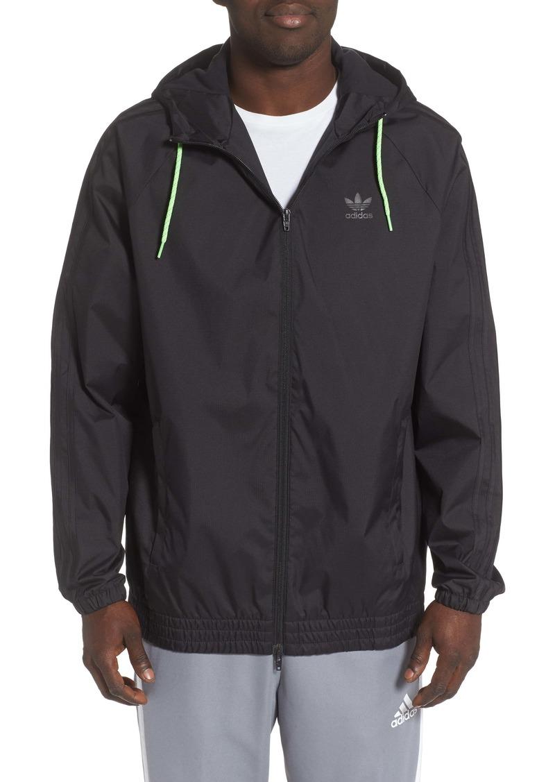 adidas Winterized Windbreaker Water Repellent Jacket