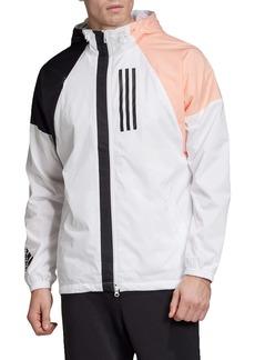 adidas W.N.D. Water Repellent Hooded Jacket