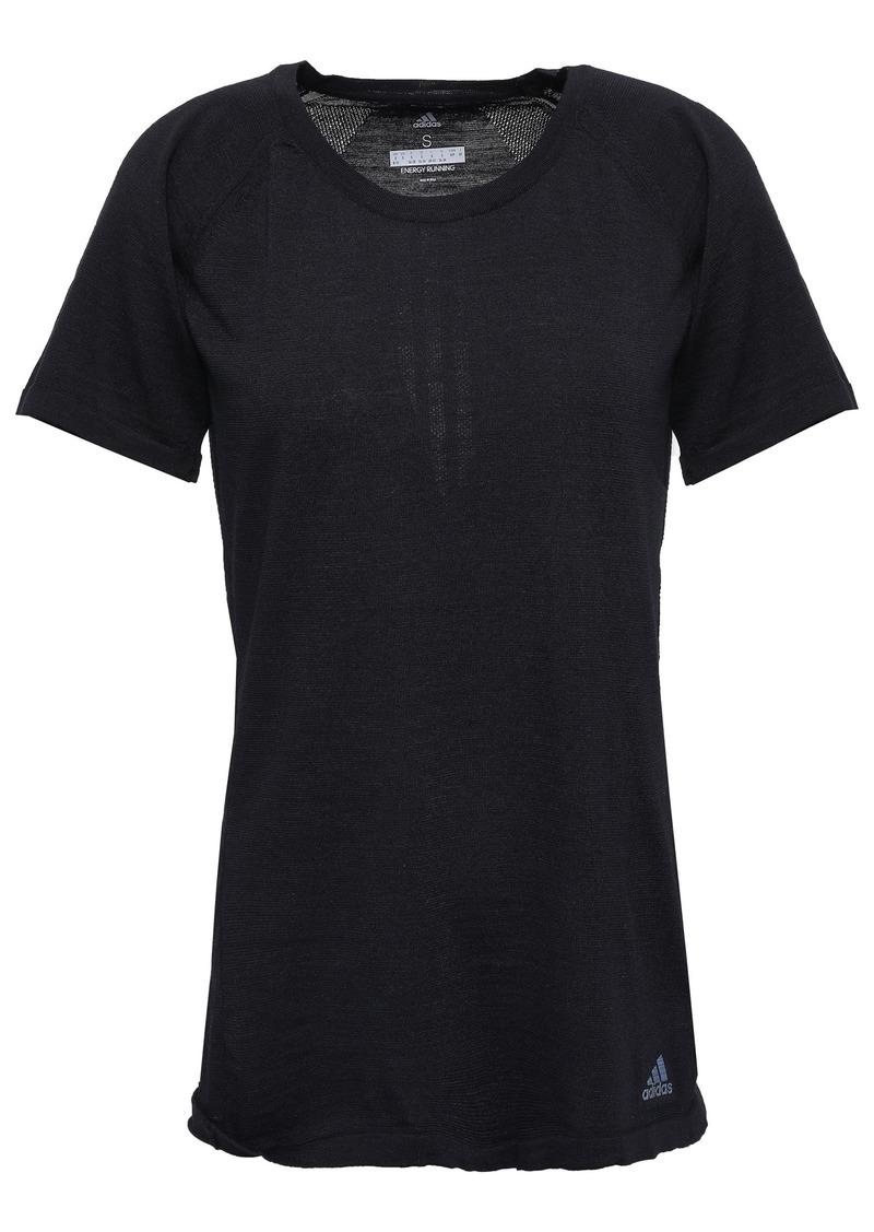 Adidas Woman Cru Primeknit T-shirt Black
