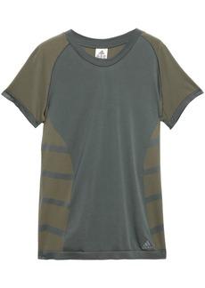 Adidas Woman Cru Printed Primeknit T-shirt Army Green
