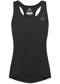 Adidas Woman Mesh-paneled Stretch Tank Black