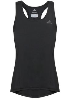 Adidas Woman Mesh-paneled Stretch Tank Black
