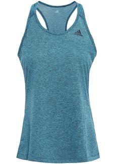 Adidas Woman Mélange Jersey Tank Turquoise