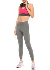 Adidas Woman Mélange Stretch Leggings Gray