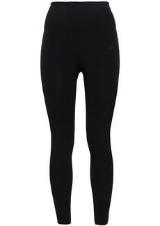 Adidas Woman Perforated Stretch Leggings Black