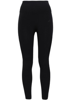 Adidas Woman Perforated Stretch Leggings Black