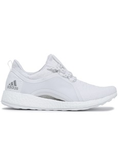 Adidas Woman Pureboost Stretch-knit Sneakers White