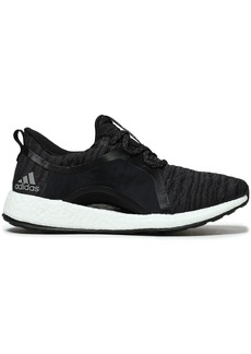 Adidas Woman Pureboost X Knitted Sneakers Black