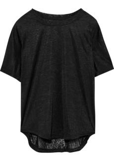 Adidas Woman Slub Jersey T-shirt Black
