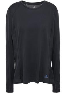 Adidas Woman Stretch-knit Top Black