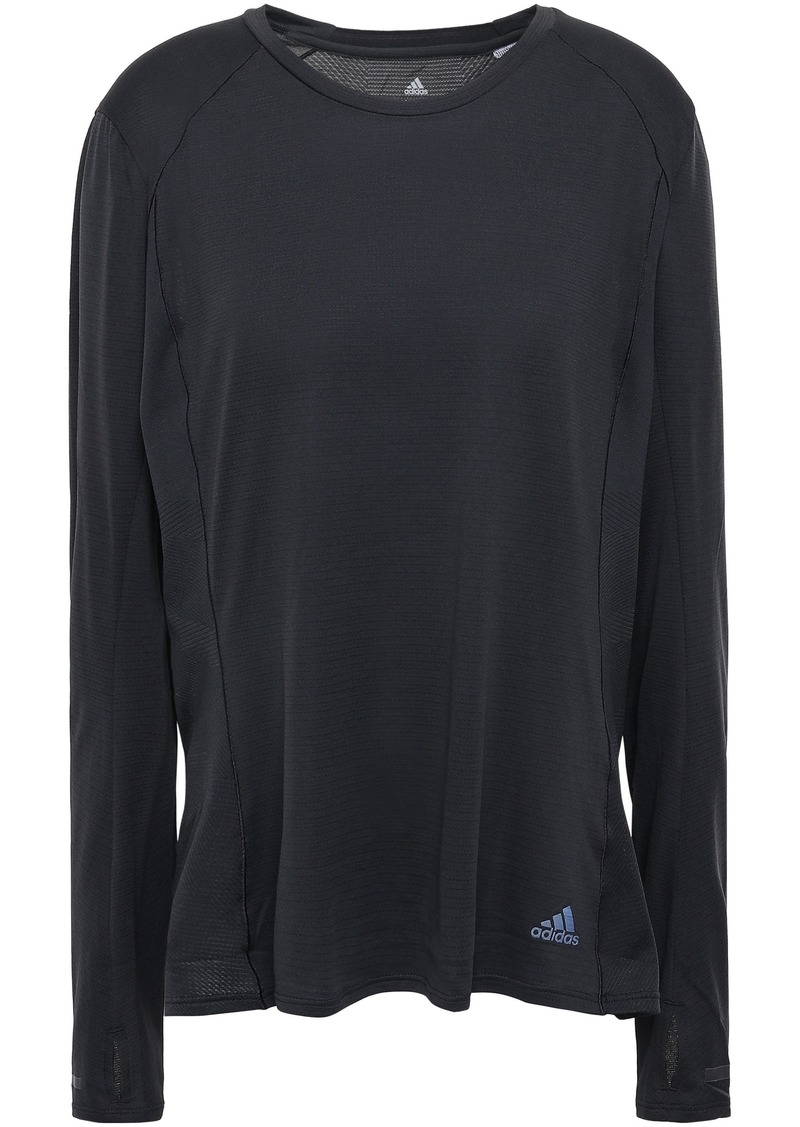 Adidas Woman Stretch-knit Top Black