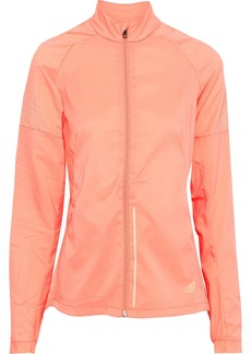Adidas Woman Supernova Printed Climacool Track Jacket Pastel Orange