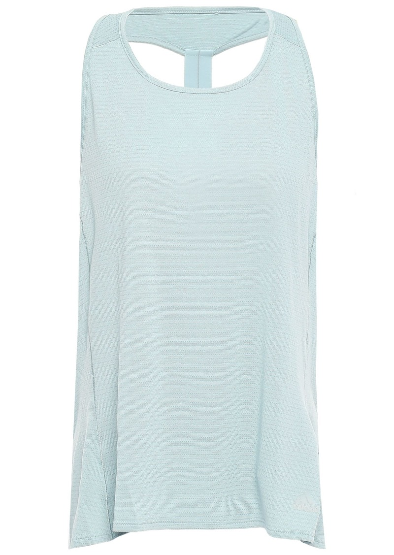 Adidas Woman Super Nova Stretch-jacquard Tank Sky Blue