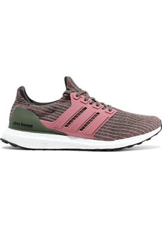 Adidas Woman Ultra Boost Stretch-knit Sneakers Multicolor