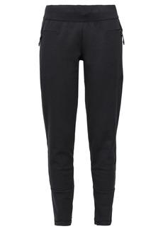 Adidas Woman Z.n.e. French Cotton-blend Terry Track Pants Black