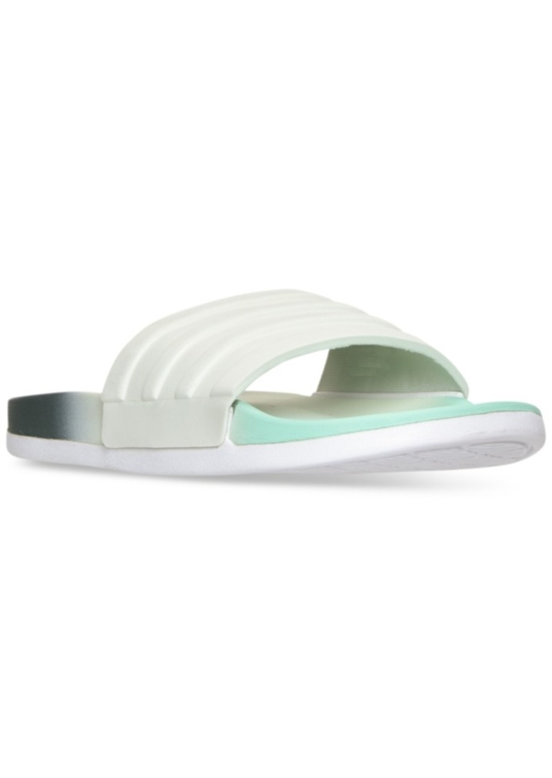 finest selection 386d0 0b4da adidas Womens adilette Cloudfoam Armad Slide Sandals from Finish Line