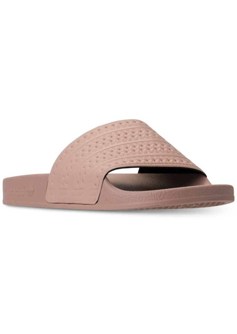 30f36930ab75 Adidas adidas Women s Adilette Slide Sandals from Finish Line Now  19.98
