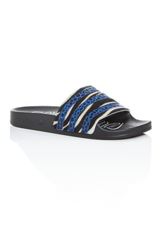 Adidas Women's Adilette Striped Slide Sandals