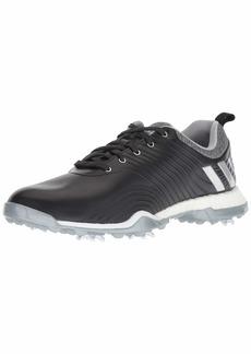 adidas Womens Adipower 4ORGED Golf Shoe core Black/Silver Metallic/Clear Onix  M US