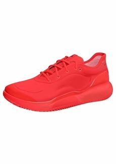 adidas Women's aSMC Court Boost Tennis Shoe Active Red/Blackwhite  M US