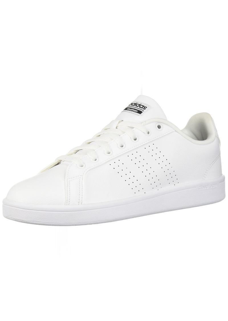adidas Women's CF Advantage CL Sneaker White/Black  M US