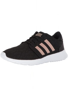 adidas Women's CF QT Racer W Sneaker Core Black Copper Met White  M US