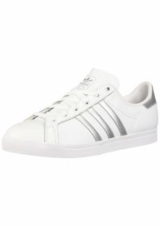 adidas Women's Coast Star Shoes ftwr White/Silver Met./ core Black  M US