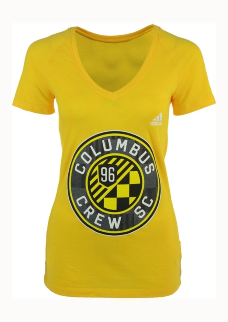 adidas Women's Columbus Crew Sc Pearlized Pattern T-Shirt