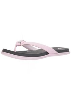 adidas Women's Comfort B Flip Flop Sport Sandal Aero Pink s Grey Five Fabric Aero Pink s