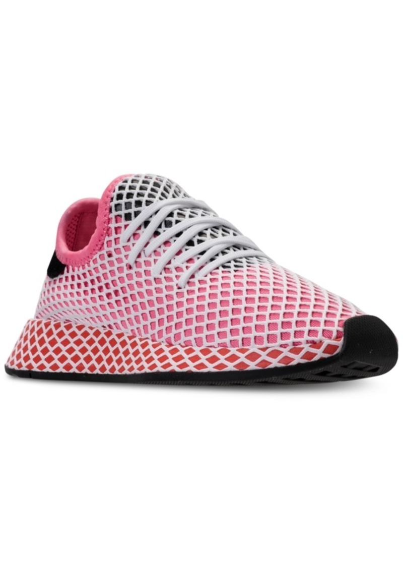 fb819e22508e7 Adidas adidas Women s Deerupt Runner Casual Sneakers from Finish ...