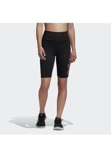 adidas Women's Designed 2 Move Aeroready Cropped Biker Shorts