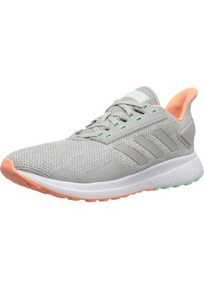 adidas Women's Duramo 9 Running Shoe Grey/Chalk Coral  M US