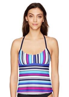 adidas Women's Easy Stripe Tankini  S