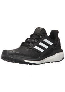 adidas Women's Energy Boost w Running Shoe Black White  Medium US