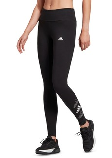 adidas Women's Essentials Stacked Logo High-Rise Full Length Leggings