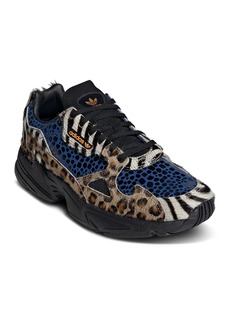 Adidas Women's Falcon Mixed Media Lace-Up Sneakers