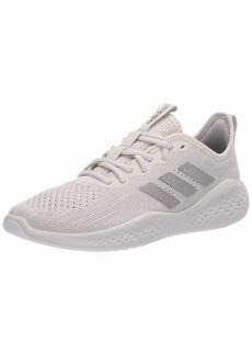adidas womens Fluidflow Running Shoe Alumina/Platino Met Chalk Pearl  US