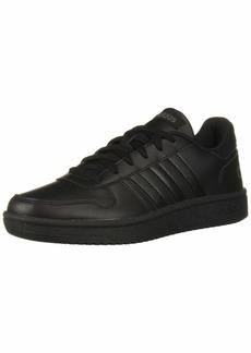 adidas Women's Hoops 2.0 Sneaker Black/Grey  M US